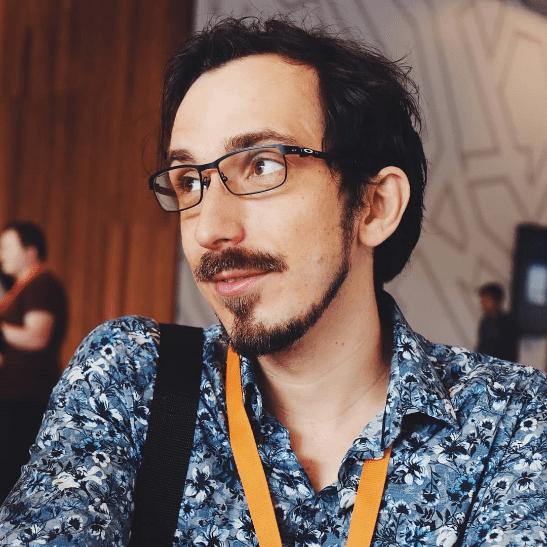My Journey into Virtual Experience Design – Adam Matthews Profile Image   AIE Workshop